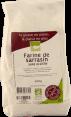 Nature & Compagnie : farine de sarrasin : Bio sans gluten : 500g