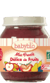 Babybio mes fruits : délice de fruits : Alimentation bébé bio : dès 4 mois