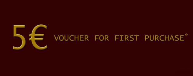 Gutschein für Ihren ersten Einkauf